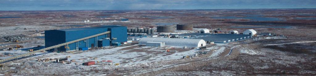 De Beers Gahcho Kue Mine site
