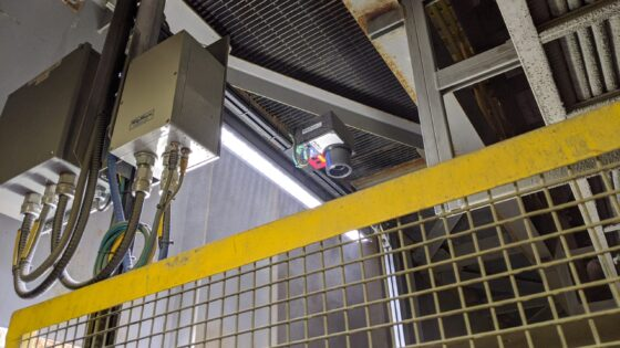 Vertex Instrument installed