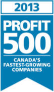 PROFIT 500 Liste des am schnellsten wachsenden kanadischen Firmenlogos